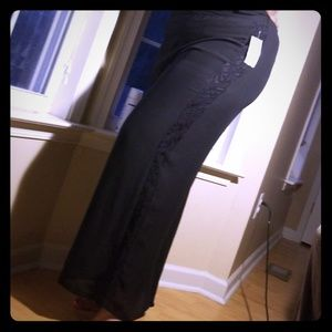 NY Collection Wide Leg Pant
